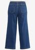 Plus Size Tie Front Flare Jeans alternate view