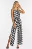 Plus Size Houndstooth Jumpsuit alternate view