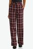 Wine Plaid Trouser Pants alternate view