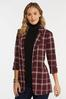 Wine Plaid Blazer alternate view