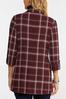 Wine Plaid Blazer alt view