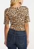 Leopard Print Bodysuit alternate view