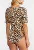 Leopard Print Bodysuit alt view