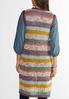 Multicolor Open Stitch Sweater Vest alternate view