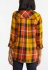 Plus Size Harvest Pullover Plaid Shirt alternate view