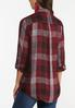 Multi Wine Plaid Shirt alternate view