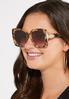 Oversized Tort Sunglasses alt view