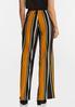 Golden Stripe Wide Leg Pants alternate view
