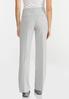 Petite Gray Trouser Pants alternate view