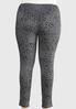 Plus Size Gray Leopard Leggings alternate view