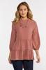 Plus Size Rose High- Low Tunic alternate view