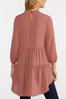 Plus Size Rose High- Low Tunic alt view