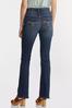 Petite High- Rise Bootcut Jeans alt view