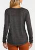 Plus Size Fall Fun Thermal Top alternate view