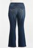 Plus Size High- Rise Bootcut Jeans alternate view