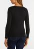 Plus Size Solid Pullover Sweater alternate view