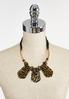 Leopard Lucite Cord Necklace alternate view