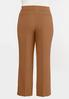 Plus Size Stretch Waist Trouser Pants alternate view
