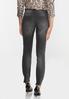 Black Distressed Skinny Jeans alternate view