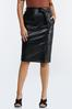 Faux Leather Pencil Skirt alternate view