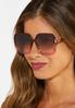 Square Lucite Sunglasses alt view