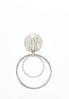 Swirl Hoop Clip- On Earrings alternate view