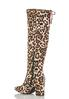 Leopard Tall Boots alternate view