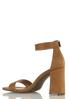 Square Toe Heeled Sandals alternate view