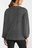 Plus Size Balloon Sleeve Sweatshirt alternate view