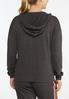 Stripe Hooded Sweatshirt alternate view