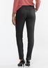 Black Coated Skinny Jeans alternate view