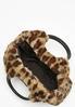 Leopard Faux Fur Satchel alt view