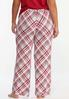 Plus Size Meteor Plaid Sleep Pants alternate view