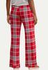 Scarlet Plaid Sleep Pants alternate view
