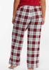 Plus Size Mountain Plaid Sleep Pants alternate view