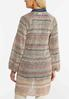 Plus Size Stripe Cardigan Sweater alternate view