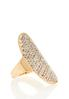 Pave Stretch Statement Ring alternate view