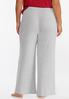 Plus Size Ribbed Wide Leg Sleep Pants alternate view