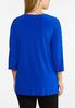 Plus Size Ladder Sleeve Top alternate view