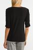 Ruched Puff Sleeve Top alt view