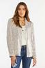 Plus Size Champagne Sequin Jacket alternate view