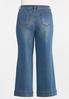 Plus Petite High- Rise Wide Leg Jeans alternate view