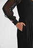 Dressy Sheer Sleeve Jumpsuit alt view
