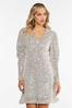 Plus Size Sequin Puff Sleeve Dress alternate view