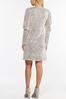 Plus Size Sequin Puff Sleeve Dress alt view