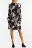 Plus Size Ruffled Floral Swing Dress alt view