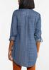 Chambray Houndstooth Tunic alternate view