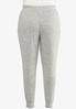 Plus Size Brushed Hacci Joggers alternate view