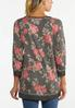 Cozy Floral Pullover Top alternate view