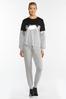 Plus Size Metallic Colorblock Sweatshirt alt view
